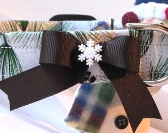Fresh Winter Pine Pet Collar