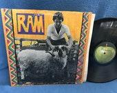 Vintage, Paul and Linda McCartney - quot Ram quot , Vinyl LP, Record Album, The Beatles, Too Many People, Dear Boy, Uncle Albert Admiral Halsey