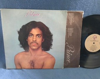 """RARE Vintage, Prince - """"S/T"""", Vinyl LP, Record Album, 1979 Original 1st Press, Funk, Soul, R n B, I Wanna Be Your Lover, With You, Bambi"""