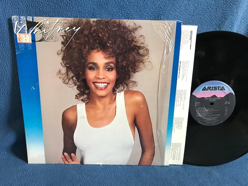 Vintage Whitney Houston  Whitney Vinyl LP image 0