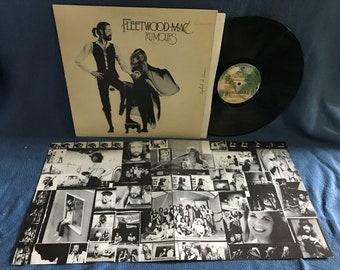 "RARE, Vintage, Fleetwood Mac - ""Rumours"" Vinyl LP Record Album, Original First Press, Rock, Stevie Nicks, Go Your Own Way, Gold Dust Woman"