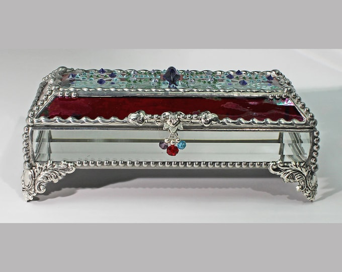 Jewel Encrusted Treasure 3x7 SILVER
