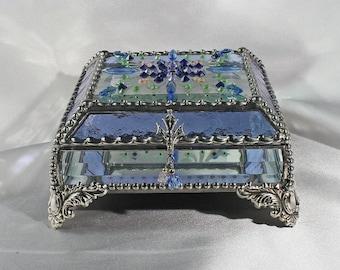 Jewel Encrusted 5x5 SILVER