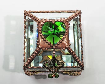 Heart Jewel 2.5x2.5 COPPER