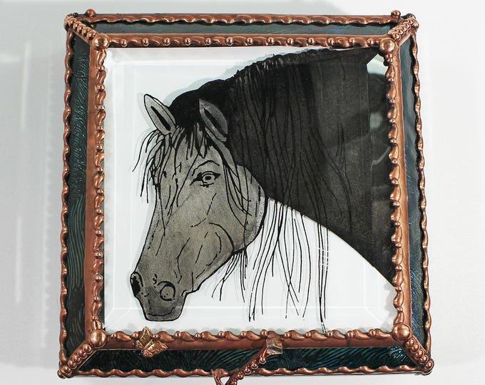 Horse Equine Jewelry Trinket Treasure Box