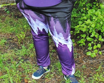 Pixel Ace Pride Pajama Pants! Stretchy & Comfy Jogger Style Pants with Drawstring and Pockets - Plus Size Pajama Pants - Pride Pants