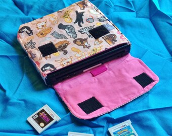 2DS Carrying Case - CHOOSE YOUR PATTERN - Made to Order