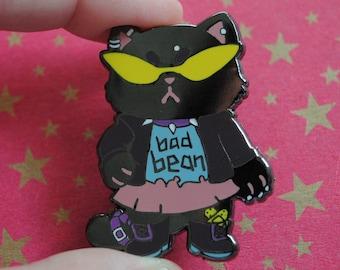 Bad Bean Pin - Punk Animals Enamel Pins