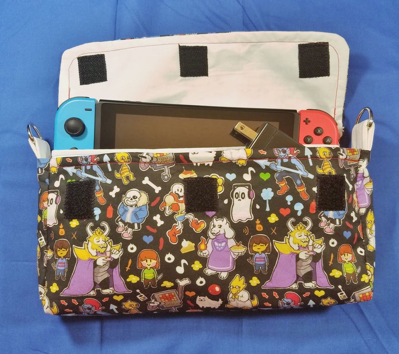Undertale Inspired Nintendo Switch Carrying Case  Made to image 0