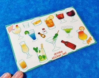 Drinks Sticker Sheets