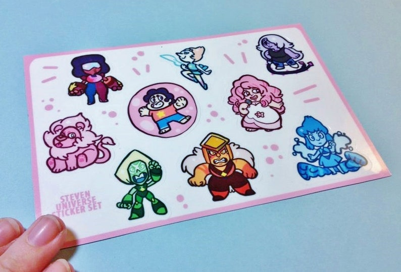 Steven Universe Sticker Sheets image 0