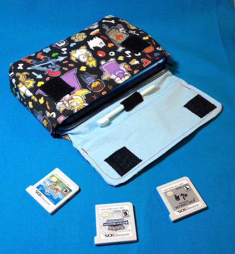 Undertale Inspired 3DS / 3DS XL / New 3DS Carrying Case  MADE image 0