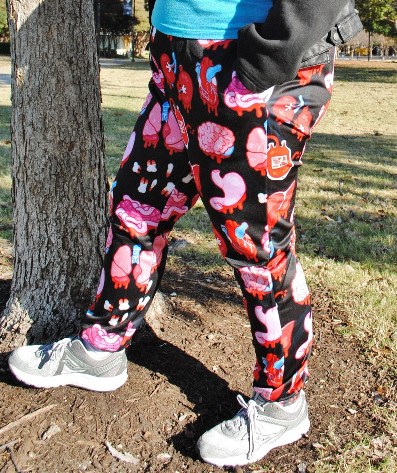 Organs Pajama Pants Stretchy & Comfy Jogger Style Pants with image 0