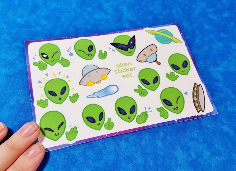 Aliens Sticker Sheets image 0