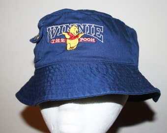 5c346e1abe2 Vintage 1990s Winnie the Pooh Bucket Hat