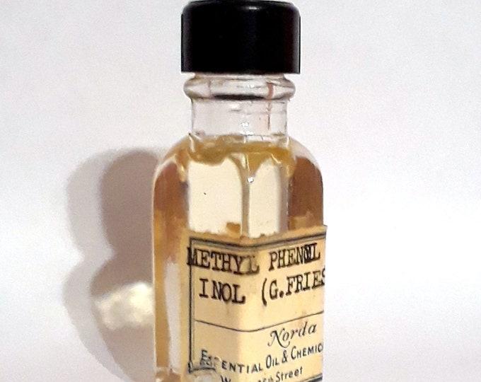 Vintage 1930s 5ml Methyl Phenyl Carbinol (George Fries) PERFUME BASE Sweet Almond Fresh Hyacinth Essential Oil Perfumery Making