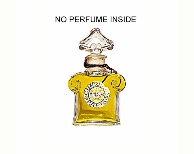 Vintage 1950s Mitsouko Parfum Extrait Empty Perfume Bottle