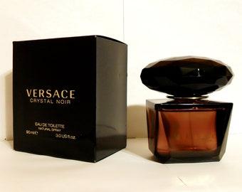 Crystal Noir by Versace 3 oz Eau de Toilette Spray and Box PERFUME