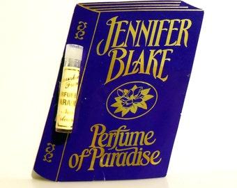 Vintage PERFUME 1990s Perfume of Paradise by Jennifer Blake Eau de Parfum Sample Vial on Card