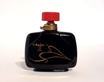Vintage 1980s Maxim's de Paris 0.14 oz Pure Parfum Mini Miniature PERFUME