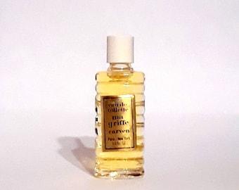 Vintage 1970s Ma Griffe by Carven 1/3 oz Eau de Toilette Mini Miniature Splash ORIGINAL PERFUME