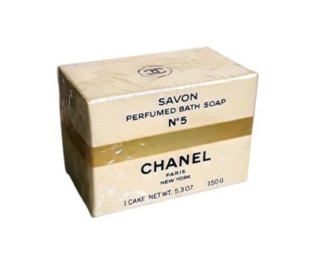 Vintage No. 5 Perfumed Soap 5.3 oz Cake Sealed in Box Original 1970s