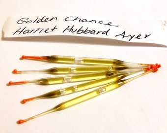 Vintage 1950s Golden Chance by Harriet Hubbard Ayer Perfume Nip Sample Vial