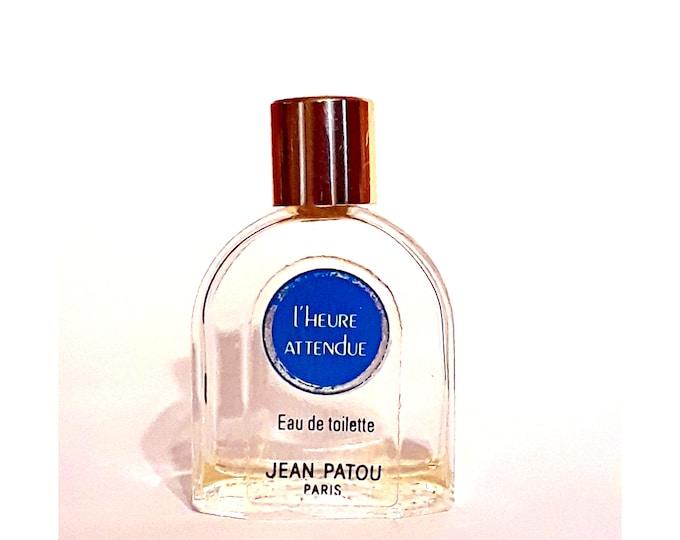 Vintage 1980s L'Heure Attendue by Jean Patou 0.20 oz Eau de Toilette Mini Miniature DISCONTINUED PERFUME