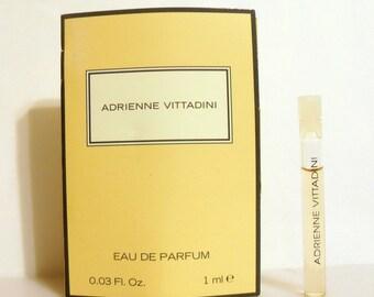 Vintage 1990s Adrienne Vittadini 0.03 oz Eau de Parfum Splash Sample Vial PERFUME