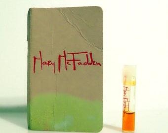 Vintage 1970s Mary McFadden Eau de Toilette Sample Vial on Card PERFUME