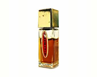 Vintage 1960s Primitif by Max Factor 3/16 oz Pure Parfum Miniature Mini Bottle PERFUME