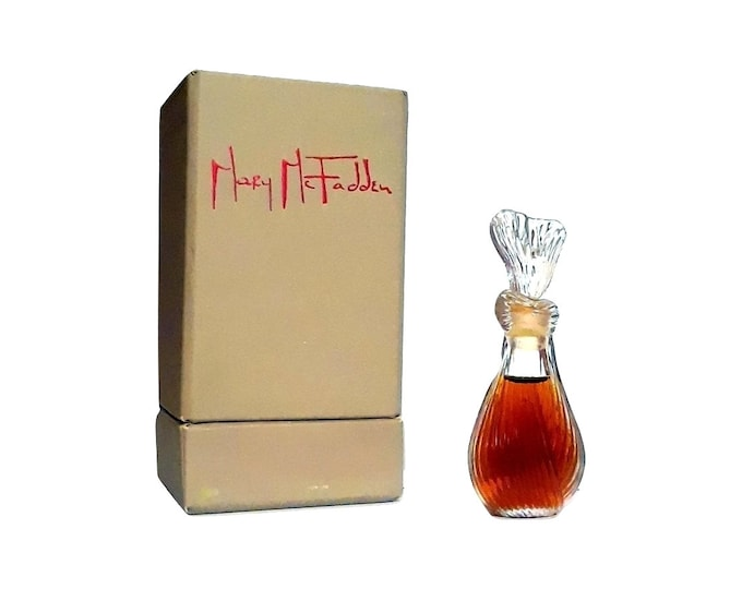 Vintage Mary McFadden Perfume by Mary McFadden 0.25 oz (7.5ml) Pure Parfum 1970s Formula