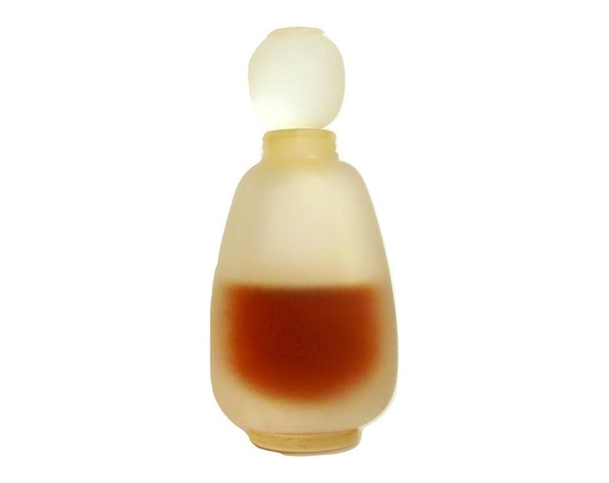 Vintage 1970s Private Collection by Estee Lauder 0.5 oz (15ml) Pure Parfum Splash Perfume Frosted French Bottle