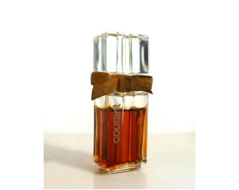 Vintage 1970s Courant by Helena Rubinstein 0.25 oz Pure Parfum Splash French Crystal Perfume Flacon