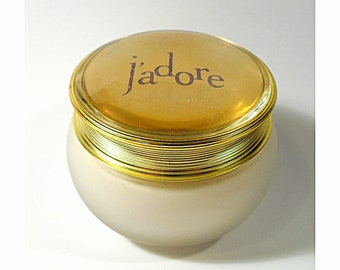 Vintage J'Adore by Christian Dior 6.9 oz Perfumed Body Cream Tester