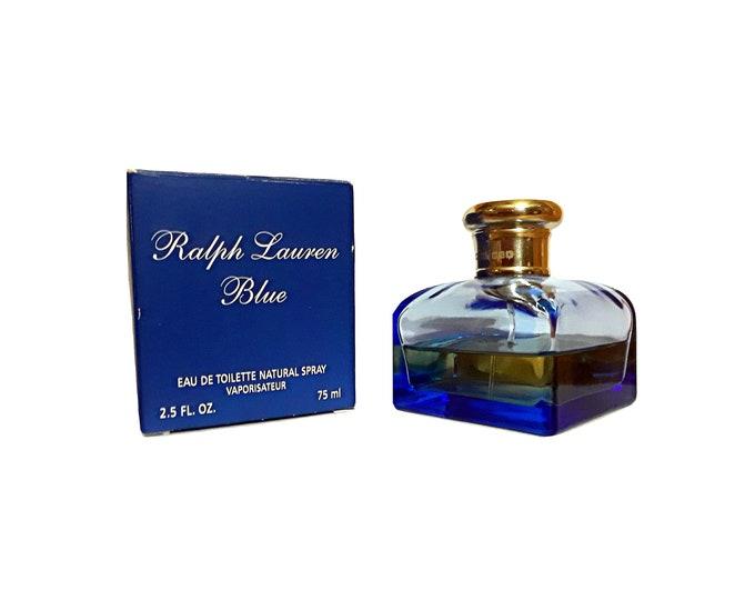 Ralph Lauren Blue Perfume by Ralph Lauren 2.5 oz Eau de Toilette Spray DISCONTINUED PERFUME
