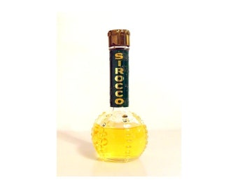 Vintage 1950s Sirocco by Lucien Lelong 2.5 oz Cologne Splash  DISCONTINUED PERFUME