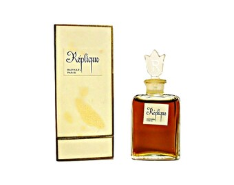 Vintage Perfume 1950s Replique by Raphael 0.5 oz (15ml) Pure Parfum Splash and Box Original Formula