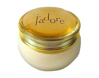 Vintage J'Adore by Christian Dior 6.9 oz Perfumed Body Cream Tester