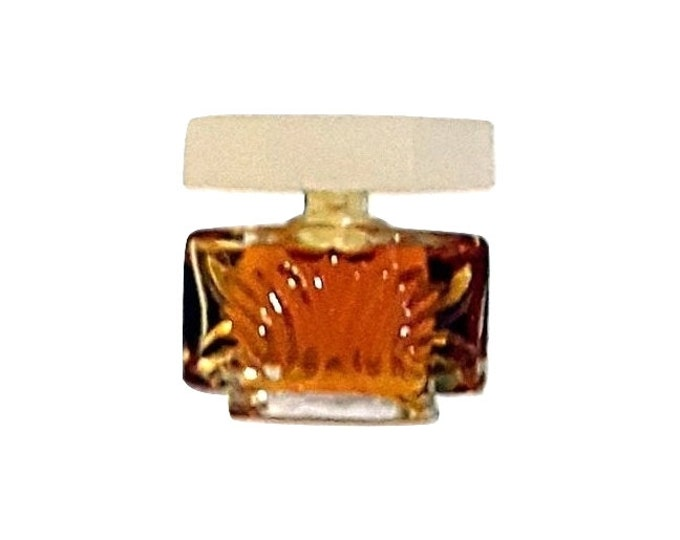 Vintage 1980s Caesars Woman 1/8 oz Extravagant Perfume Mini Miniature Pure Parfum
