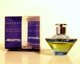 Vintage Paradox by Jacomo 0.17 oz Eau de Toilette Mini Miniature PERFUME #2