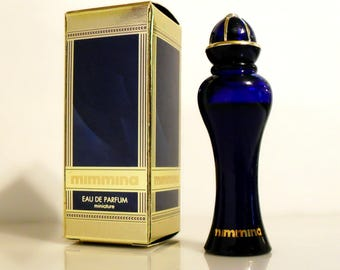 Vintage 1990s Mimmina by Mimmina 0.17 oz Eau de Parfum Miniature Mini Bottle and Box PERFUME