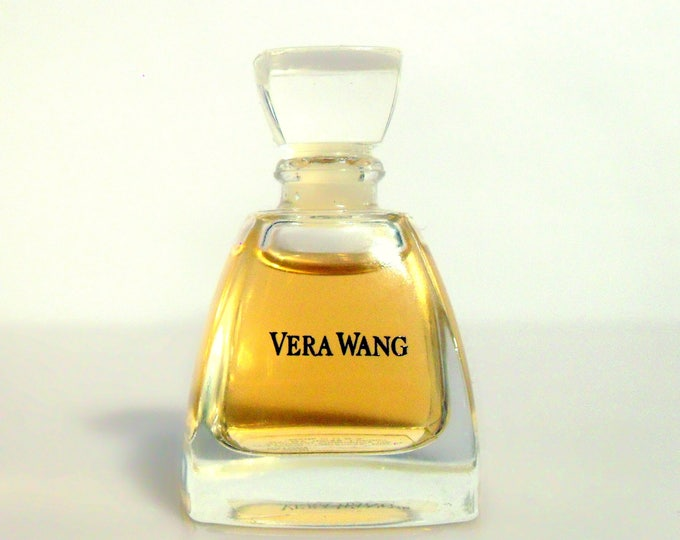 Vintage Vera Wang Perfume by Vera Wang 0.13 oz Pure Parfum Mini Miniature Bottle Perfume