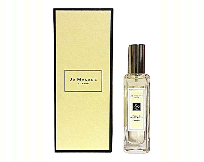 Peony & Blush Suede by Jo Malone 1 oz (30ml) Cologne Spray and Box Niche Perfume