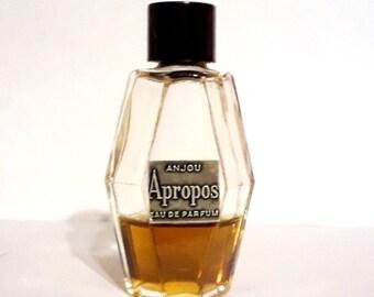 Vintage 1950s Apropos by Anjou Eau de Parfum Splash Perfume