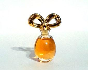 Vintage 1990s Diamonds and Rubies by Elizabeth Taylor 0.12 oz Parfum Mini Miniature PERFUME