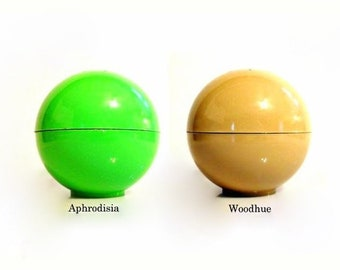 Vintage 1960s Aphrodisia or Woodhue by Faberge 3 oz After Bath Perfumed Talc Powder Shaker YOU CHOICE