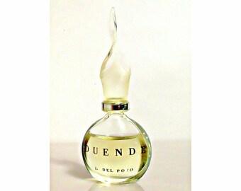 Vintage 1990s Duende by J del Pozo 0.17 oz Eau de Toilette Miniature Mini Bottle PERFUME