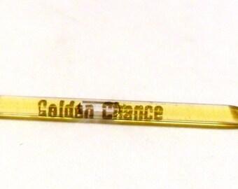 Vintage 1950s Golden Chance by Harriet Hubbard Ayer Perfume Nip Sample Vial