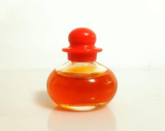 Vintage Mini Perfume 1990s Hot by Bill Blass 1/8 oz Pure Parfum Splash Miniature